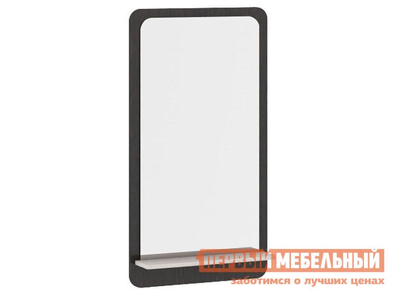 Настенное зеркало  Панель с зеркалом Арт (мини)  Венге Цаво / Дуб Белфорт