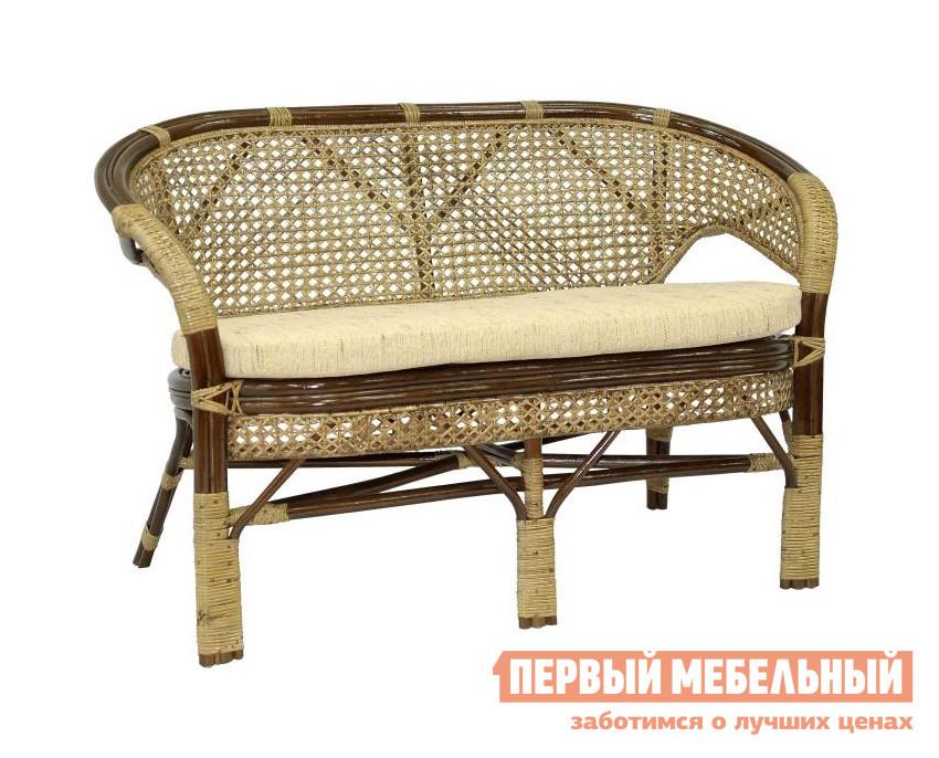 Плетеный диван для дачи ЭкоДизайн