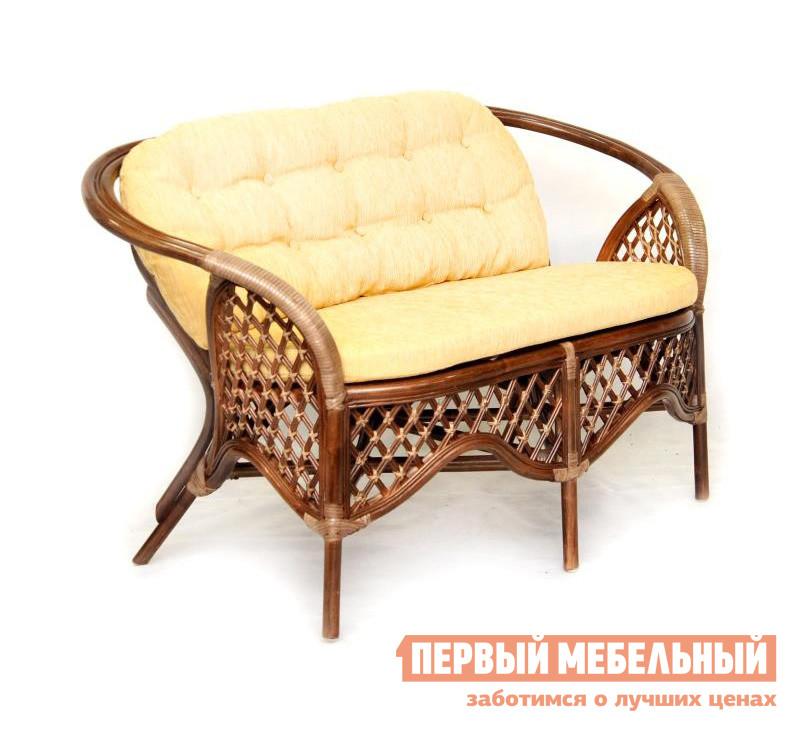 Плетеный диван для дачи ЭкоДизайн 1305С цены онлайн