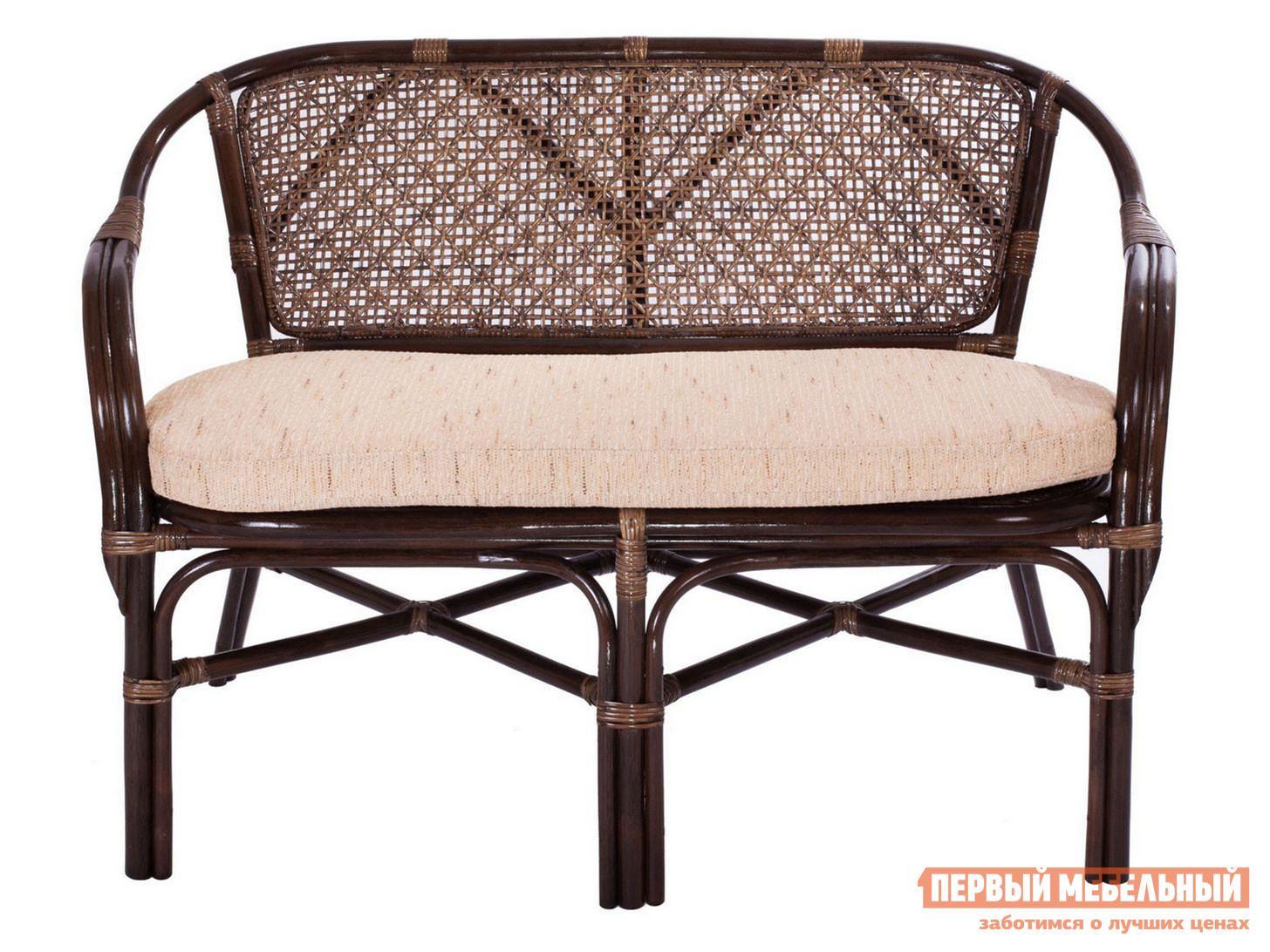 Плетеный диван  ELLENA 11/21-C Браун