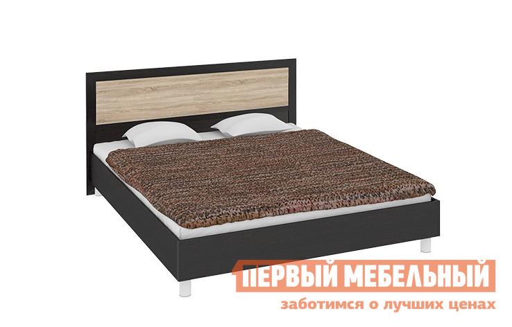 Двуспальная кровать ТриЯ Токио СМ-131.01.003, СМ-131.02.003 мебельтрия кровать двуспальная токио см 131 01 002 дуб белфорт кожа темная