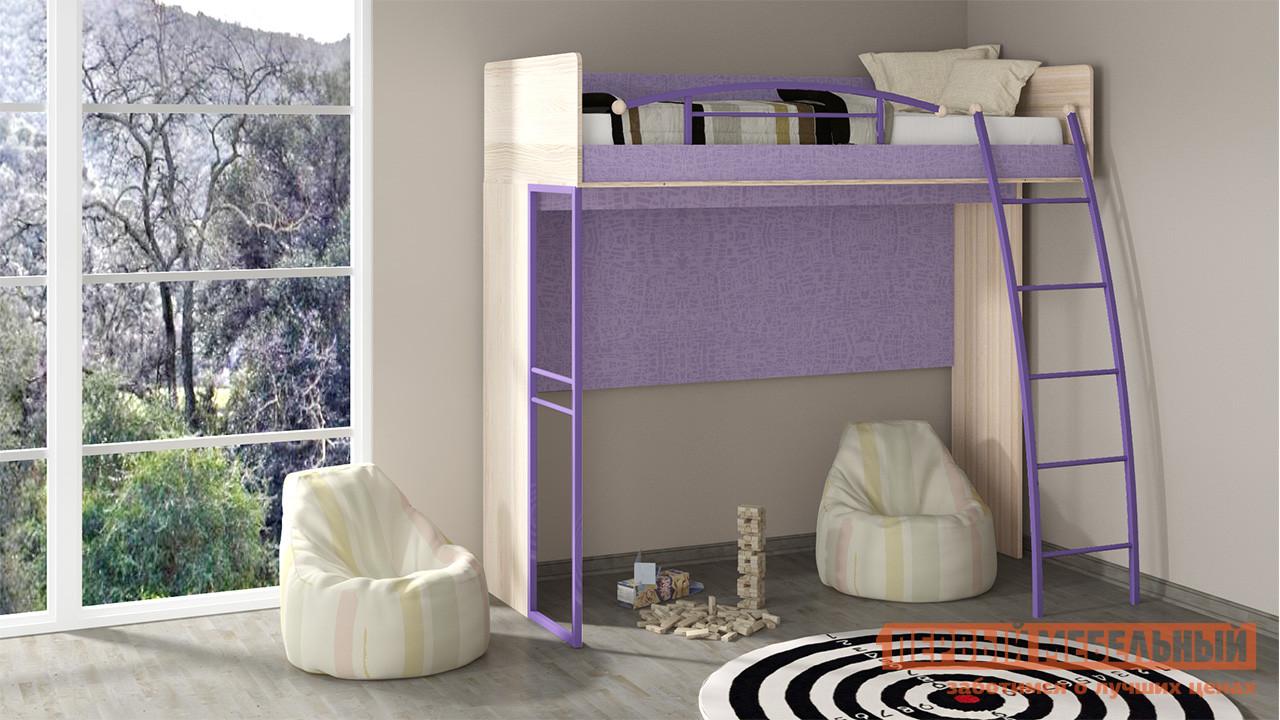 Кровать-чердак из дерева ТриЯ ПМ 145.01 дверь распашная мебель трия сакура пм 183 07 11