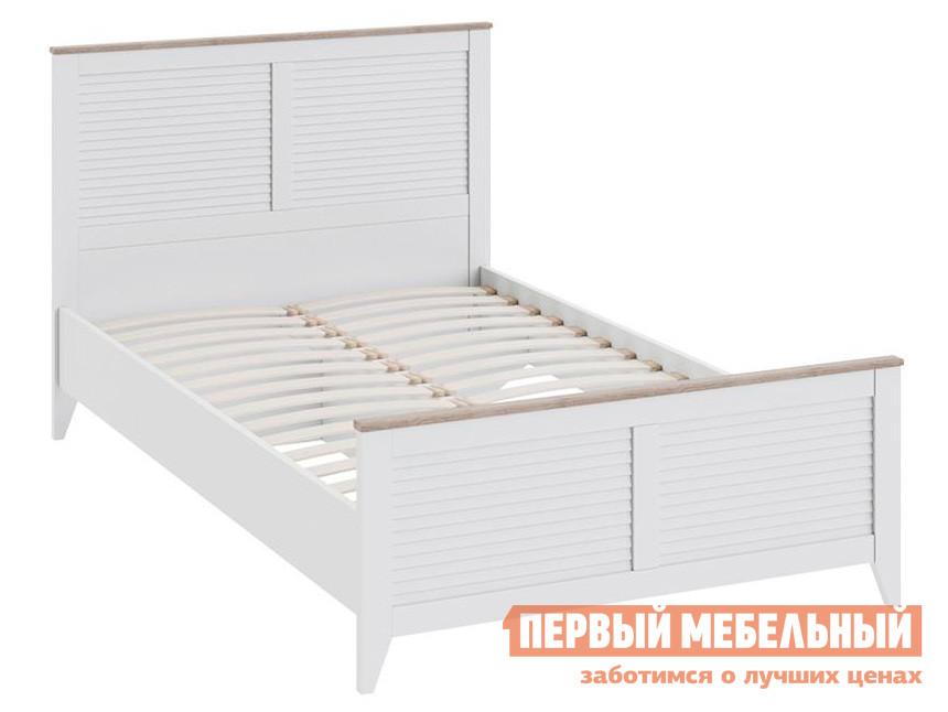Детская кровать  Ривьера СМ 241.13.21 Кровать с изножьем Дуб Бонифацио / Белый — Ривьера СМ 241.13.21 Кровать с изножьем Дуб Бонифацио / Белый
