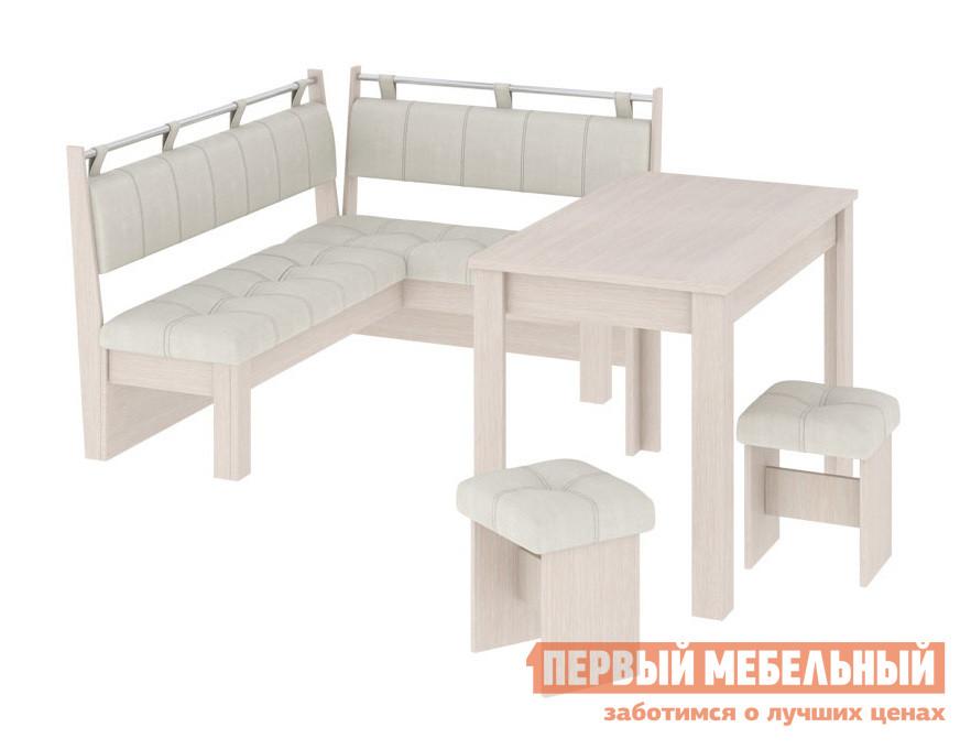 Кухонный уголок из кожзама ТриЯ Омега кухонный гарнитур трия фэнтези 120 см