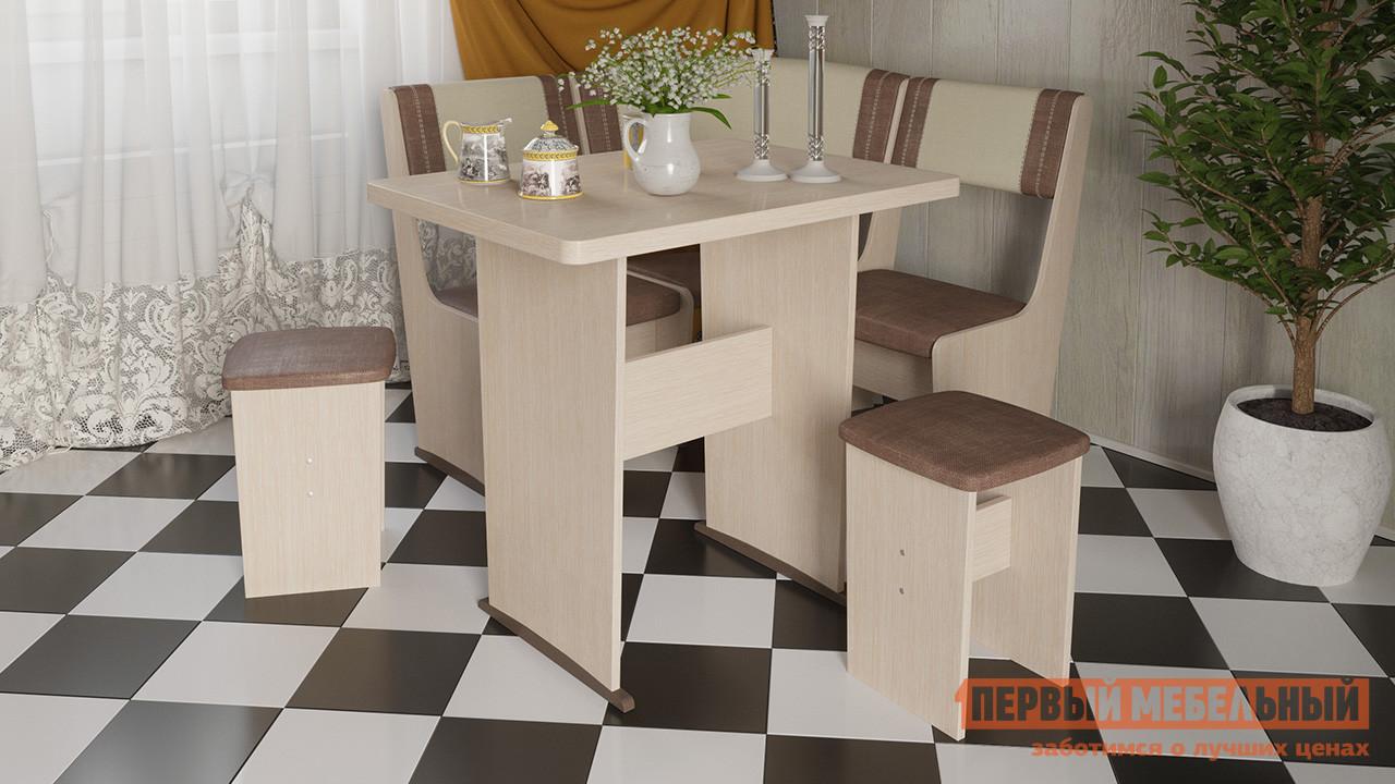 Компактный кухонный уголок со столом ТриЯ Челси мини Т1