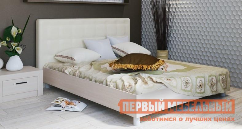 Двуспальная кровать ТриЯ Токио СМ-131.01.002 Светлый мебельтрия кровать двуспальная токио см 131 01 002 дуб белфорт кожа темная