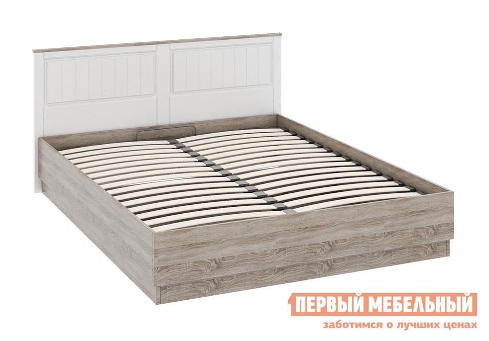 Двуспальная кровать ТриЯ СМ-223.01.002 спальный гарнитур трия саванна к1