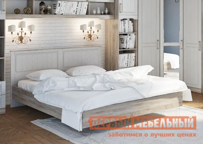 Двуспальная кровать ТриЯ СМ-223.01.001 мебельтрия кровать двуспальная токио см 131 01 002 дуб белфорт кожа темная