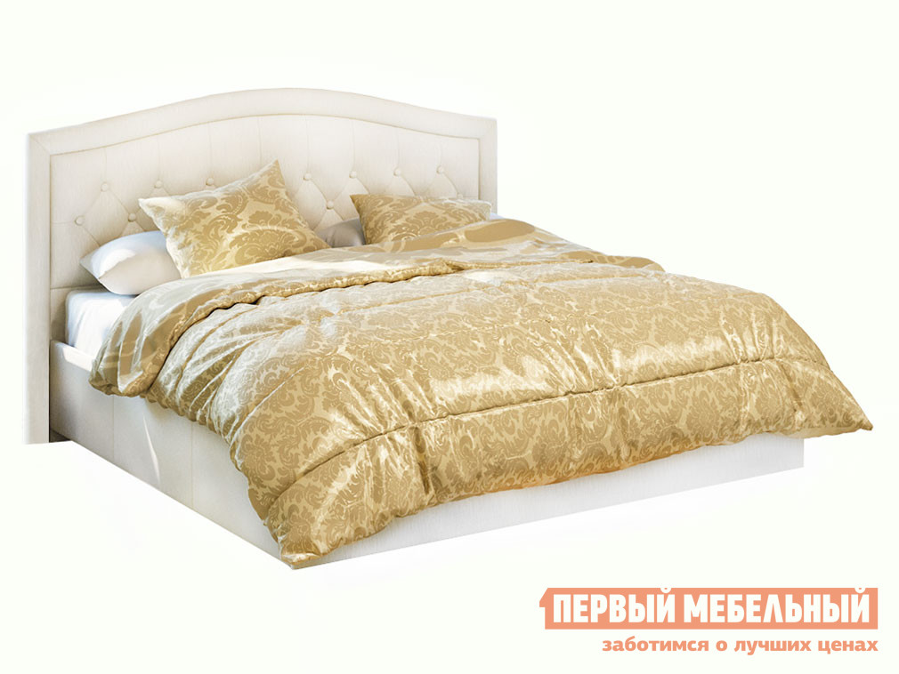 Двуспальная кровать ТриЯ Адель СМ-300.01.11(5) (ТД-300.01.05+ТД-300.01.11)