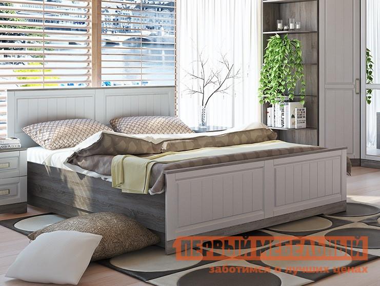 Двуспальная кровать ТриЯ СМ-223.01.004 мебельтрия кровать двуспальная токио см 131 01 002 дуб белфорт кожа темная