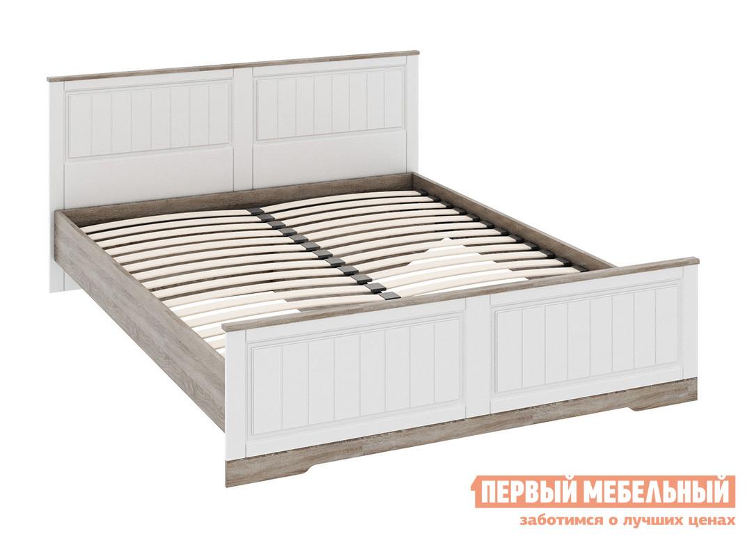 Двуспальная кровать ТриЯ СМ-223.01.003 мебельтрия кровать двуспальная токио см 131 01 002 дуб белфорт кожа темная