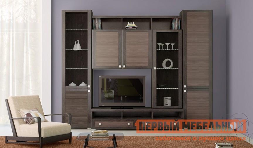 Стенка для гостиной ТриЯ Фиджи К11 стенка для гостиной мебель трия саванна гн 234 004