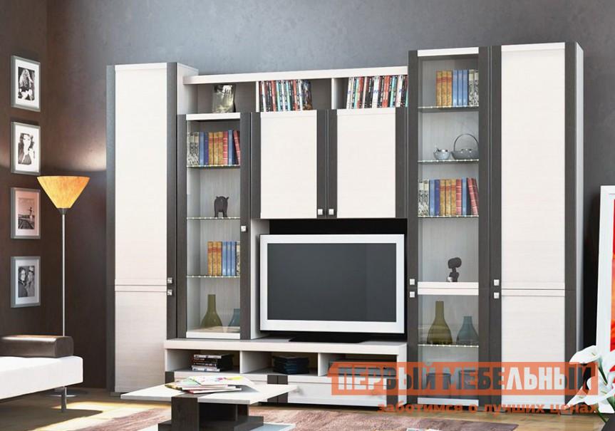 Стенка для гостиной ТриЯ Фиджи К1 стенка для гостиной мебель трия саванна гн 234 004