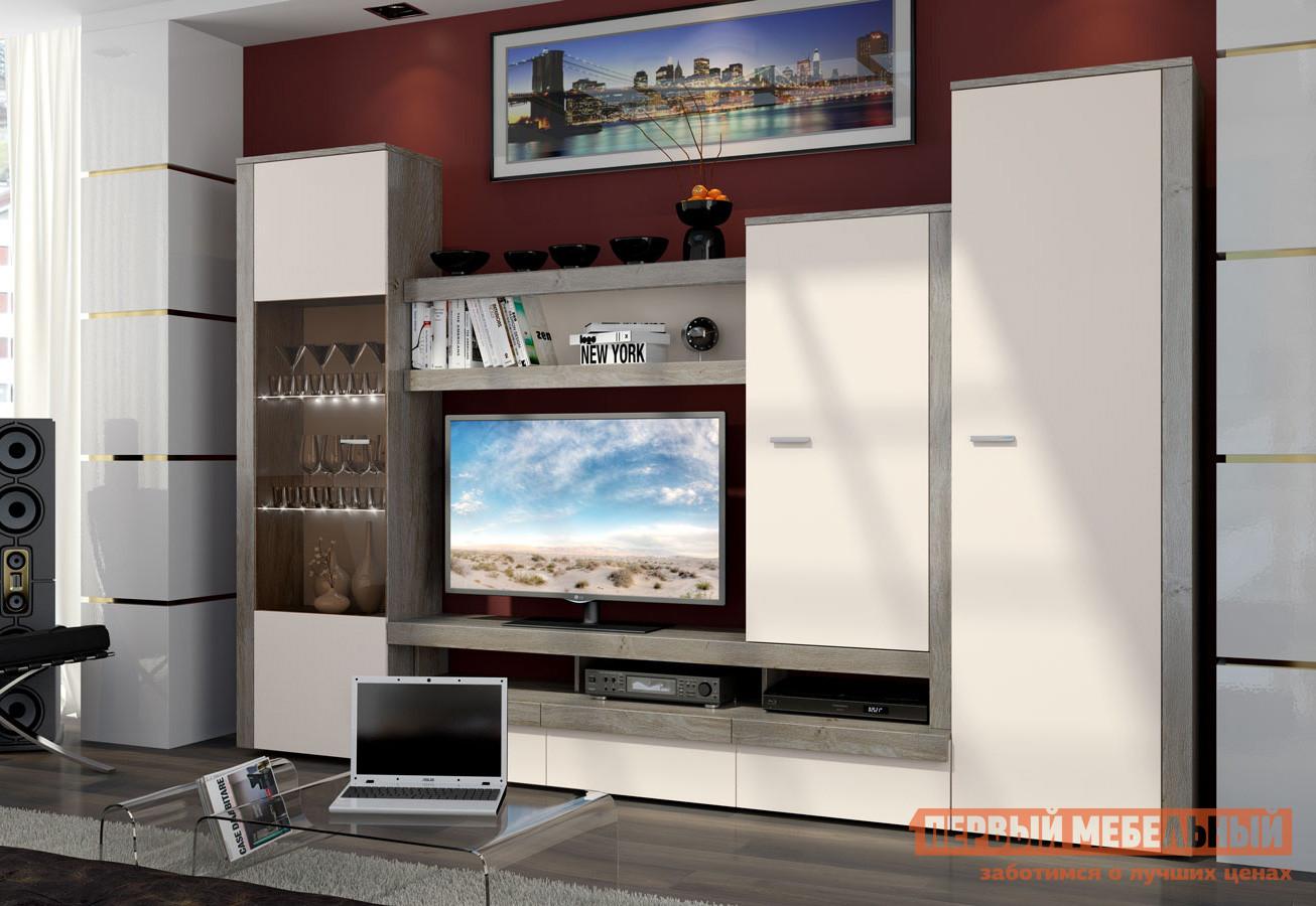 Стенка ТриЯ ГН-195.002 стенка для гостиной мебель трия саванна гн 234 004