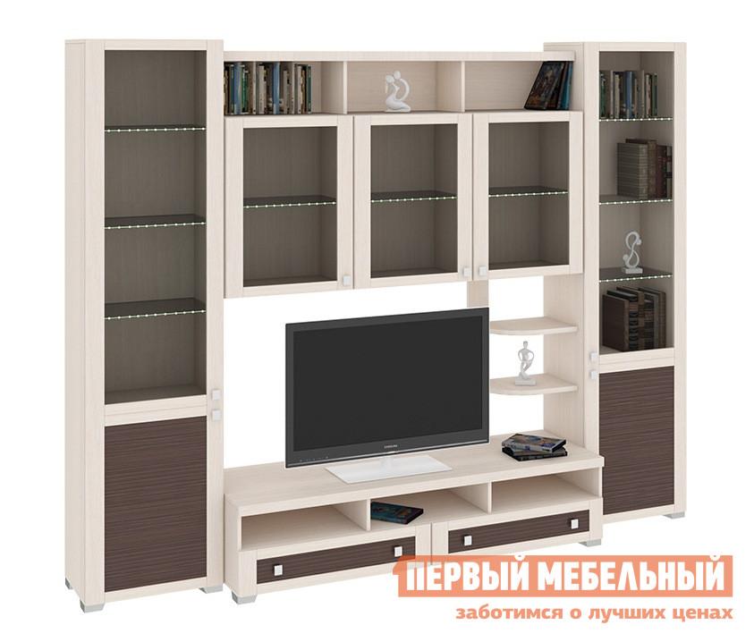 Стенка ТриЯ ГН-153.021 стенка для гостиной мебель трия саванна гн 234 004