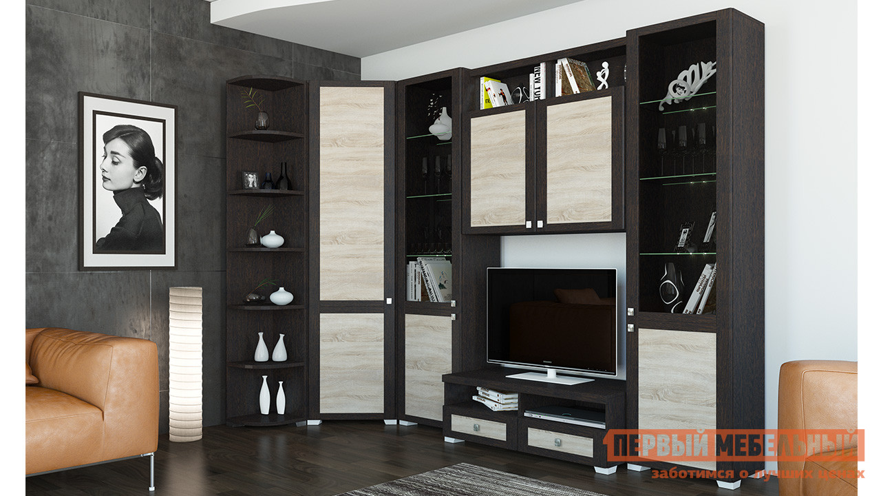 Гостиная ТриЯ ГН-153.013 мебель трия тетрис гн 154 003