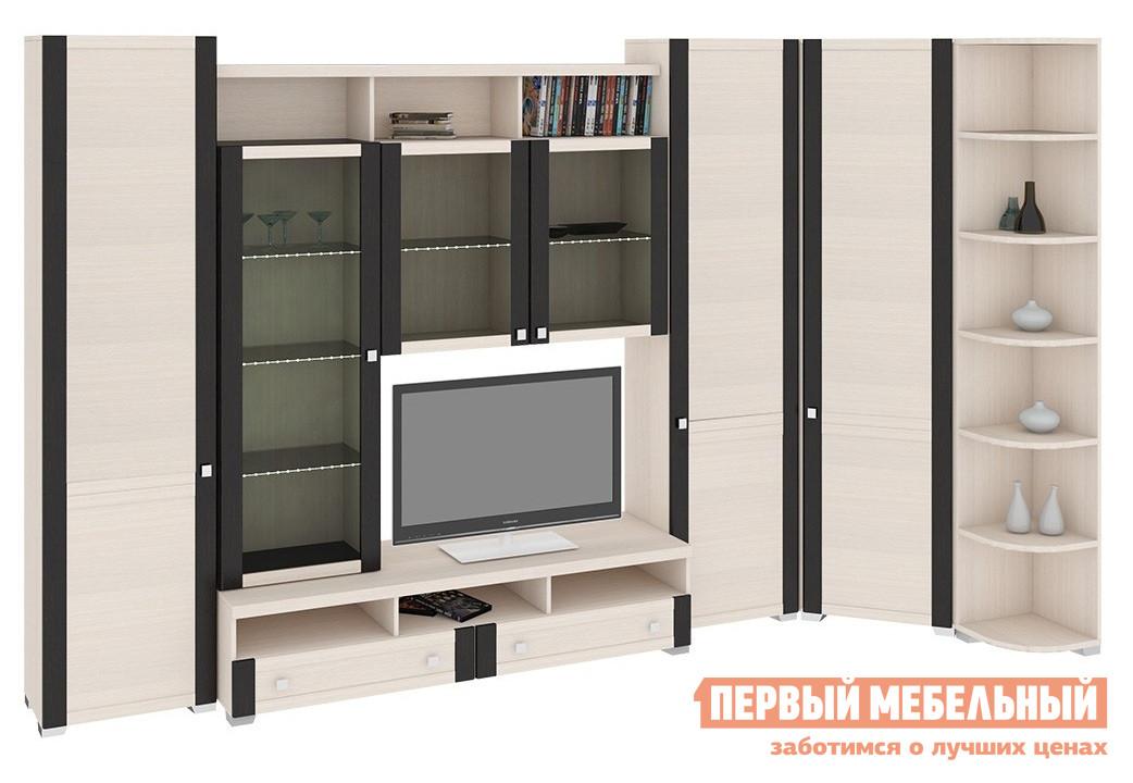 Стенка для гостиной ТриЯ ГН-153.048 стенка для гостиной мебель трия саванна гн 234 004