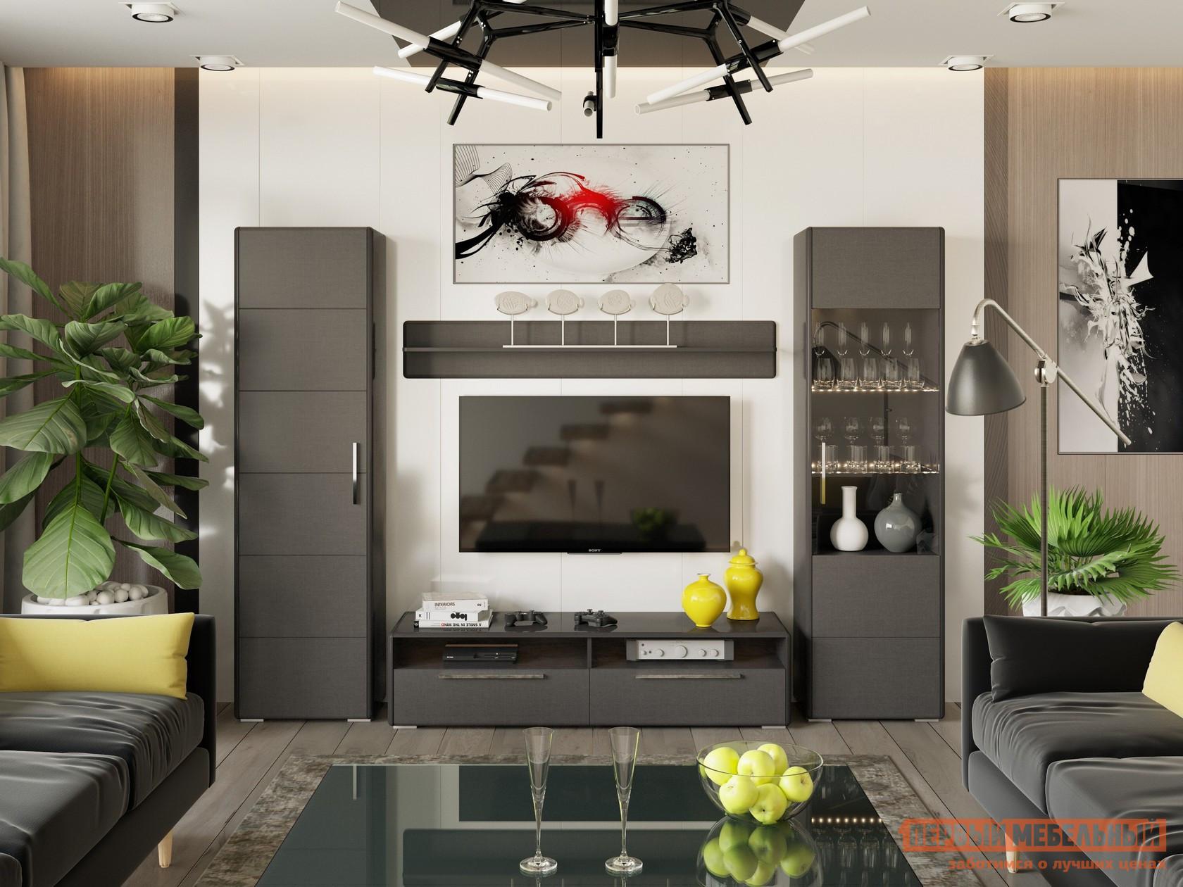 Стенка для гостиной ТриЯ ГН-208.107 стенка для гостиной трия ривьера гн 241 202 набор мебели для гостиной 2