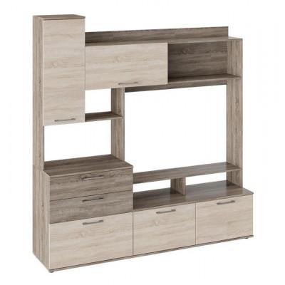 Гостиная SMART Мебель Марта Секция комбинированная Дуб Сонома трюфель / Дуб Сонома