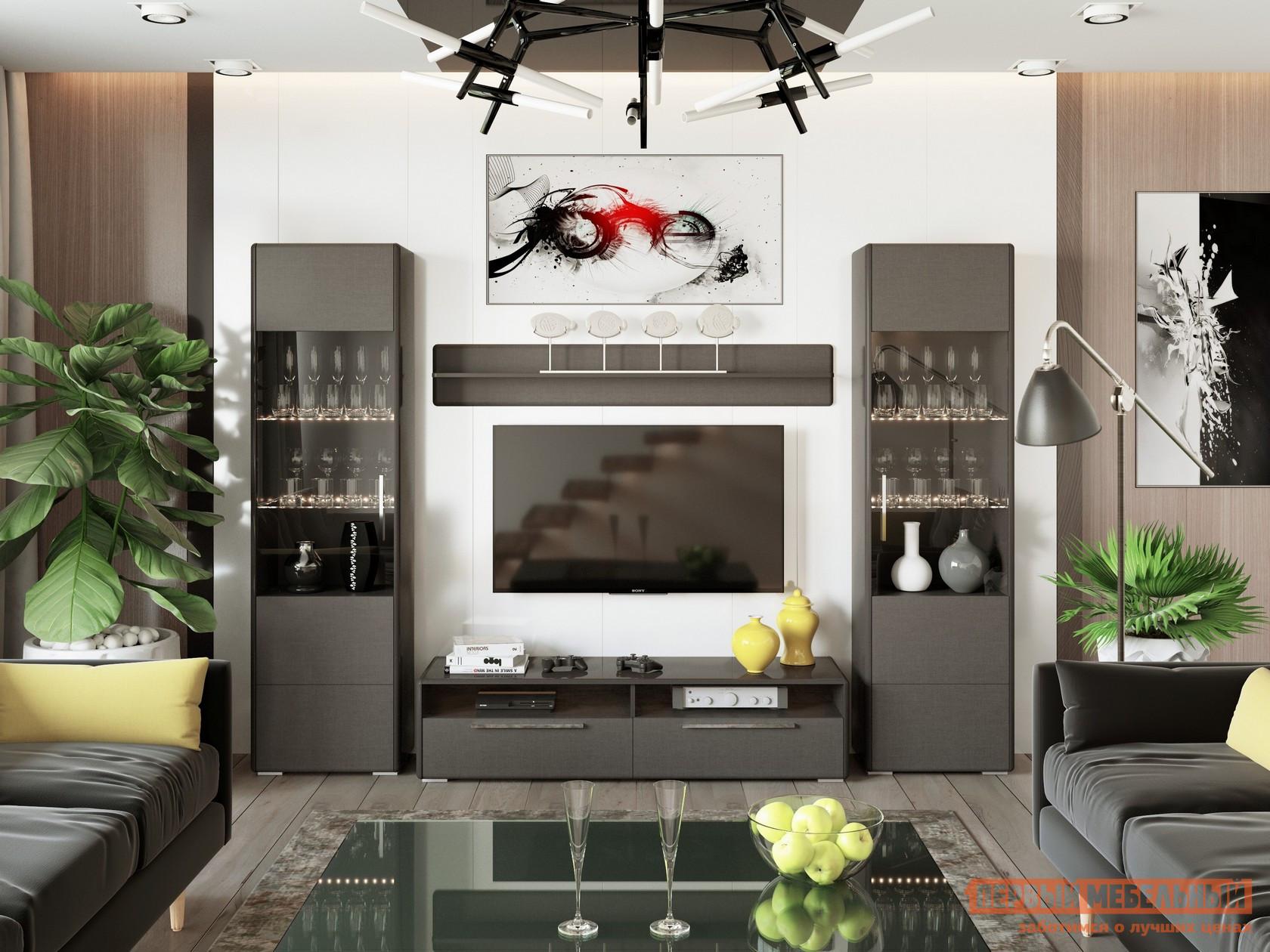 Стенка для гостиной ТриЯ ГН-208.106 стенка для гостиной трия ривьера гн 241 202 набор мебели для гостиной 2