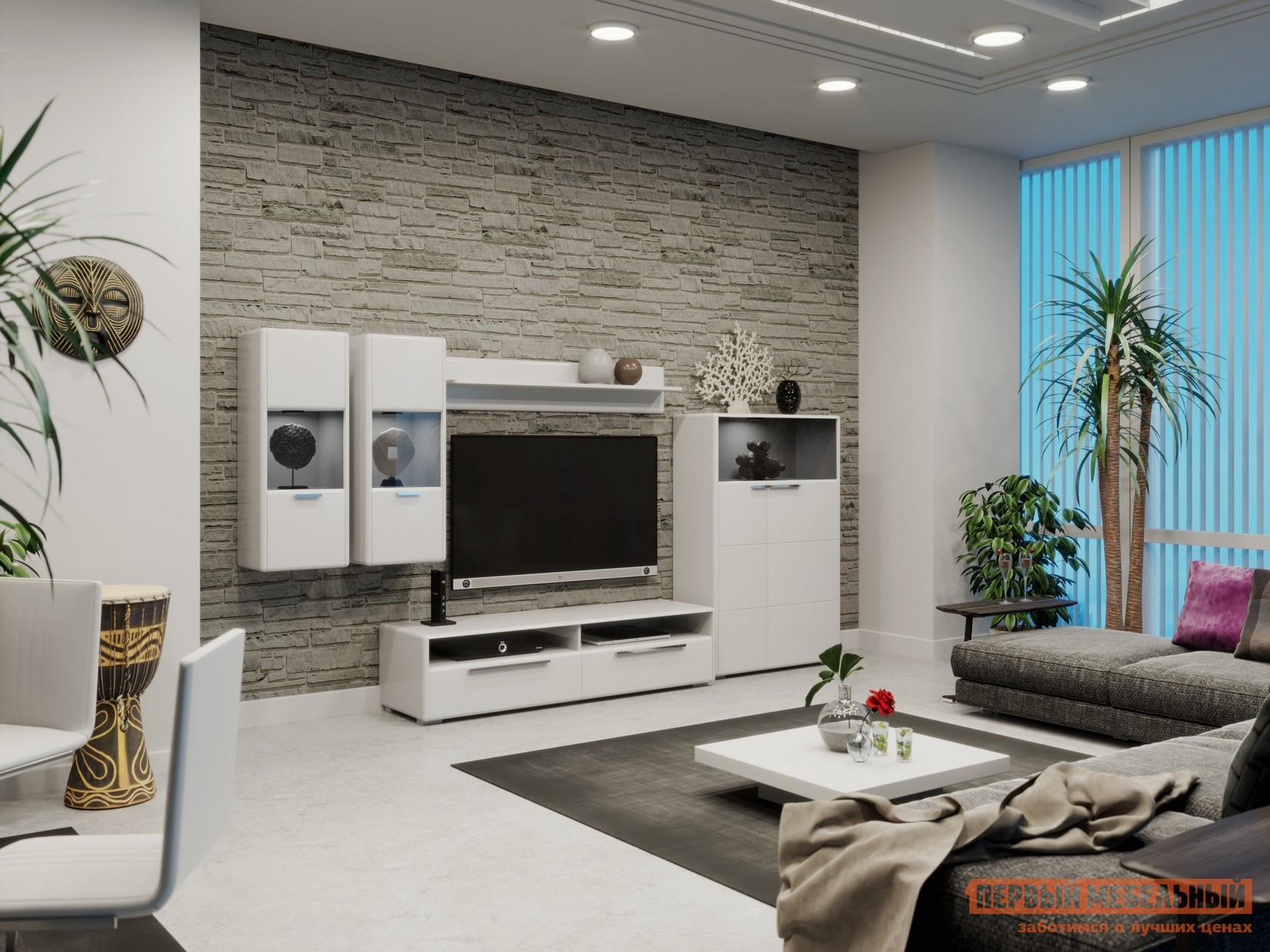 Стенка для гостиной ТриЯ ГН-208.101 стенка для гостиной трия ривьера гн 241 202 набор мебели для гостиной 2
