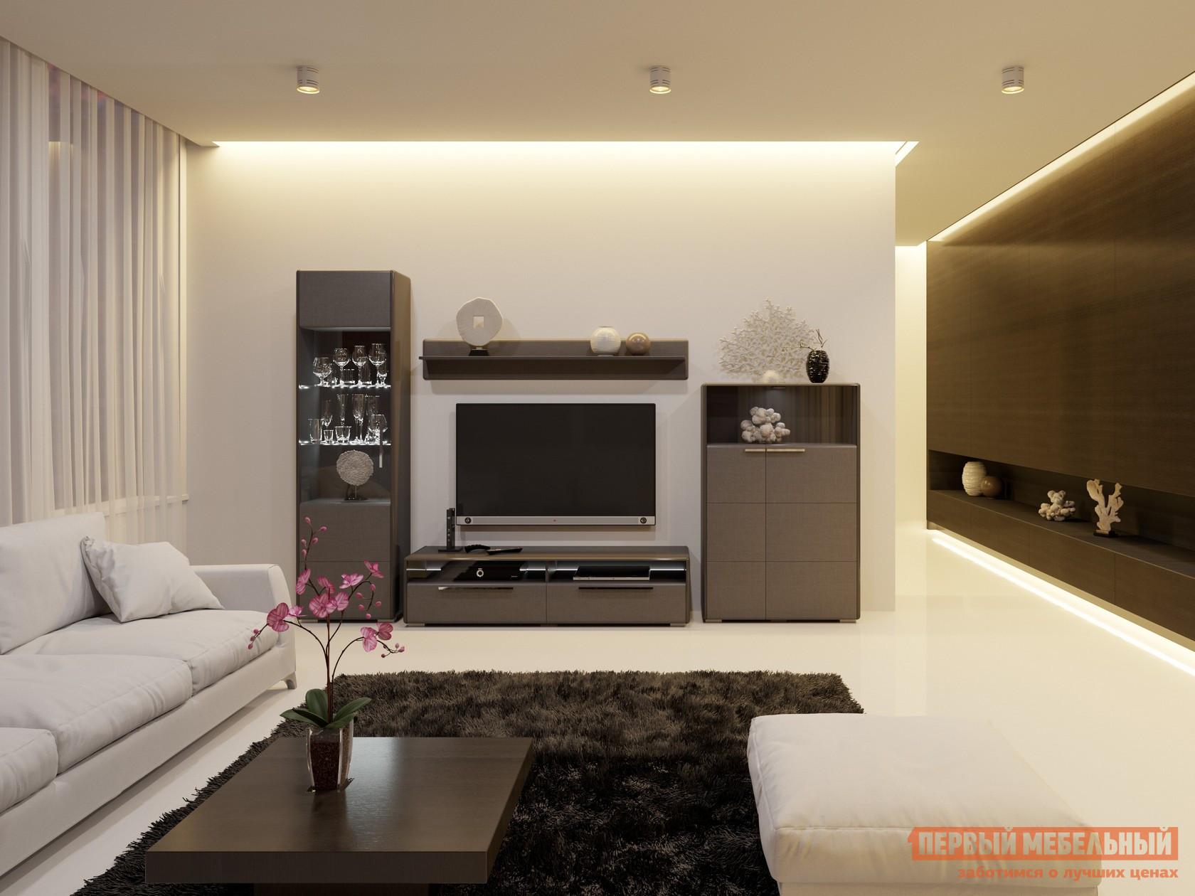Стенка для гостиной ТриЯ ГН-208.103 стенка для гостиной гранд кволити стенка горка джордан 6 559