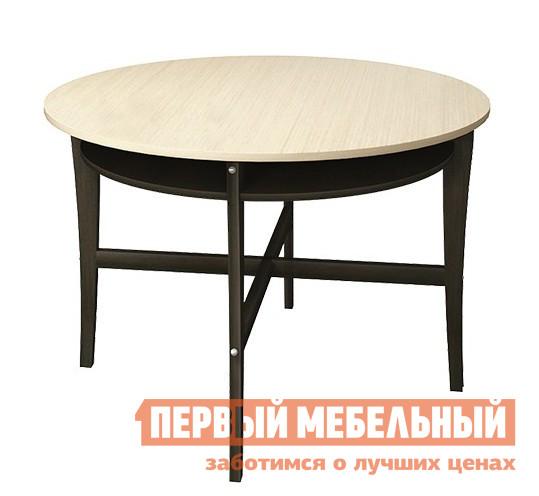 Кухонный стол Бештау Диез Т8 С-320.1  Венге / Штрих лакКухонные столы<br>Габаритные размеры ВхШхГ 735x1000x570 / 1000 мм. Этот стильный удобный стол в сложенном состоянии можно установить у стены, сэкономив свободное пространство комнаты, а разложенная круглая столешница позволит с комфортом разместить за ней одновременно несколько человек.  Эта модель займёт почётное место в любом интерьере, придав ему особый стиль и красоту.    Модель выполнена из массива бука и ЛДСП. Размер столешницы в разложенном виде 1000 х 1000 мм;стол рассчитан на 6 посадочных мест.<br><br>Цвет: Венге / Штрих лак<br>Цвет: Темное-cветлое дерево<br>Высота мм: 735<br>Ширина мм: 1000<br>Глубина мм: 570 / 1000<br>Форма поставки: В разобранном виде<br>Срок гарантии: 2 года<br>Тип: Раскладные, Трансформер<br>Материал: Деревянные, из ЛДСП, Из натурального дерева<br>Порода дерева: из бука<br>Форма: Круглые, Полукруглые<br>Размер: Маленькие