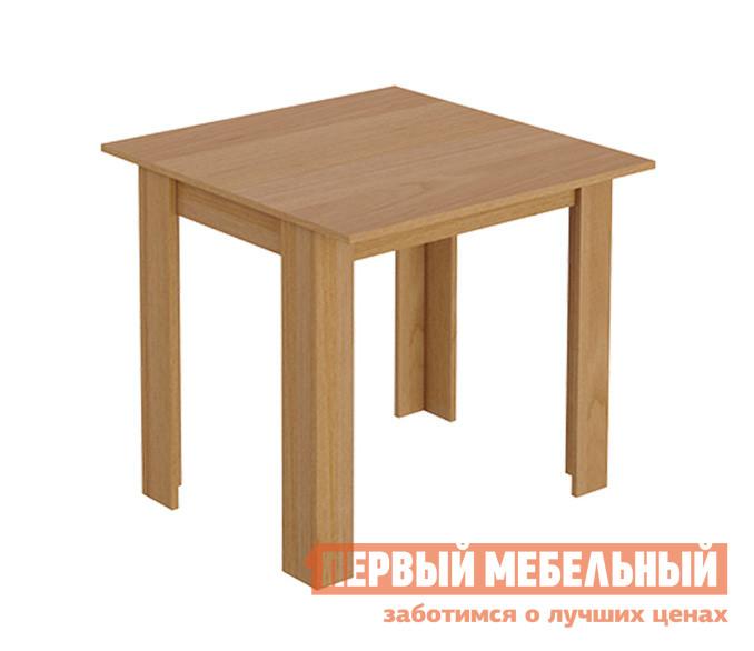 Кухонный стол ТриЯ Кантри (мини) Т2 ОльхаКухонные столы<br>Габаритные размеры ВхШхГ 710x700x700 мм. Компактный обеденный стол отлично подойдет для небольшой кухни и позволит создать уютную обеденную зону.  Модель выполнена в лаконичном дизайне прямых линий и прекрасно дополнит как классический, так и современный интерьер. Стол изготавливается из ЛДСП.<br><br>Цвет: Ольха<br>Цвет: Светлое дерево<br>Высота мм: 710<br>Ширина мм: 700<br>Глубина мм: 700<br>Кол-во упаковок: 1<br>Форма поставки: В разобранном виде<br>Срок гарантии: 24 месяца<br>Материал: Деревянные, из ЛДСП<br>Форма: Квадратные, Прямоугольные<br>Размер: Маленькие