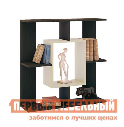 Настенная полка ТриЯ Полка настенная тип 5 Венге Цава / Молочный дуб