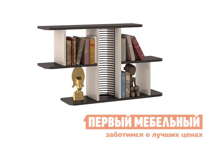 Настенная полка ТриЯ Тип 1 Венге Цава / Молочный дуб