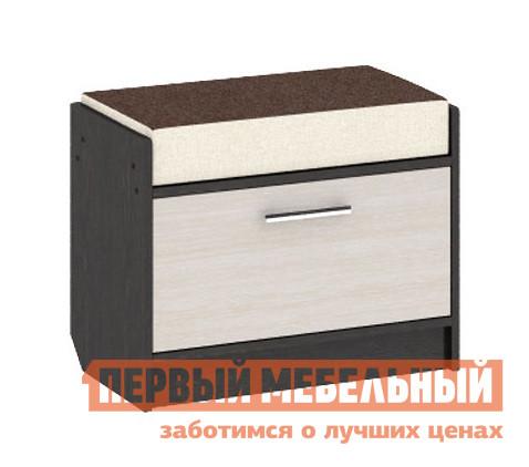 Тумба для обуви с сиденьем ТриЯ Тумба Т4 Арт (мини) кухонный стул трия этюд т4 с 296 5