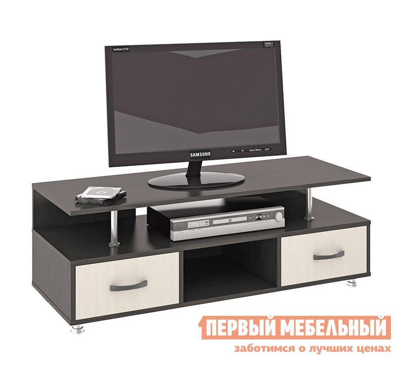ТВ-тумба ТриЯ Тумба TV-17 Венге Цава / Молочный дуб