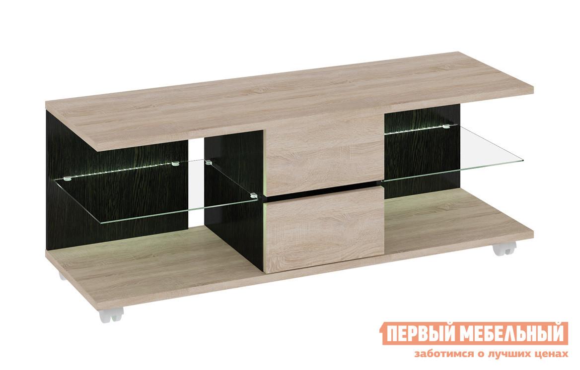 Тумбочка под телевизор ТриЯ Мики ПМ-155.03 Тип 3 мебель трия зеркало настенное грета пм 119 11tri pm 119 11tri pm 119 11