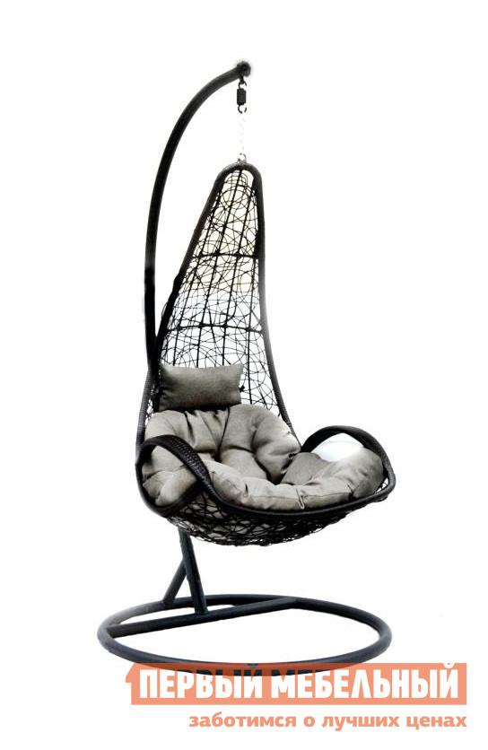 Подвесное кресло из искусственного ротанга ЭкоДизайн Z-05 кресло подвесное экодизайн lunar black