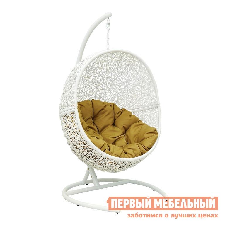Подвесное кресло ЭкоДизайн Lunar White кресло подвесное экодизайн lunar black