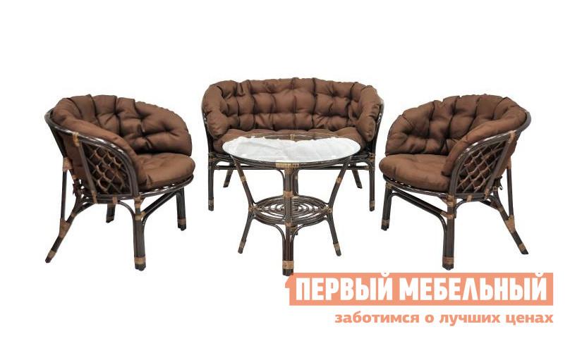 Комплект плетеной мебели ЭкоДизайн 03/10 (S) комплект плетеной мебели экодизайн пеланги 02 15 1