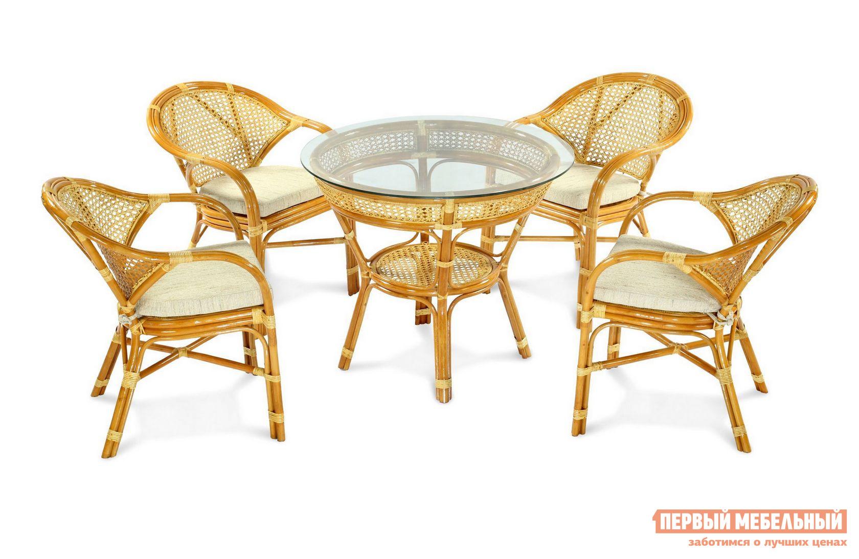 Комплект плетеной мебели ЭкоДизайн JAVA-5