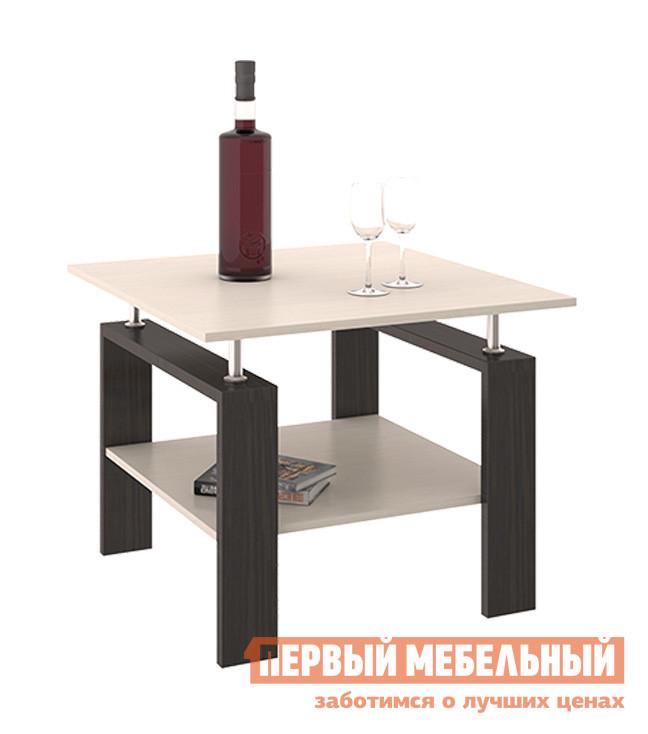 Журнальный столик ТриЯ Тип 2 Венге Цава / Молочный дуб