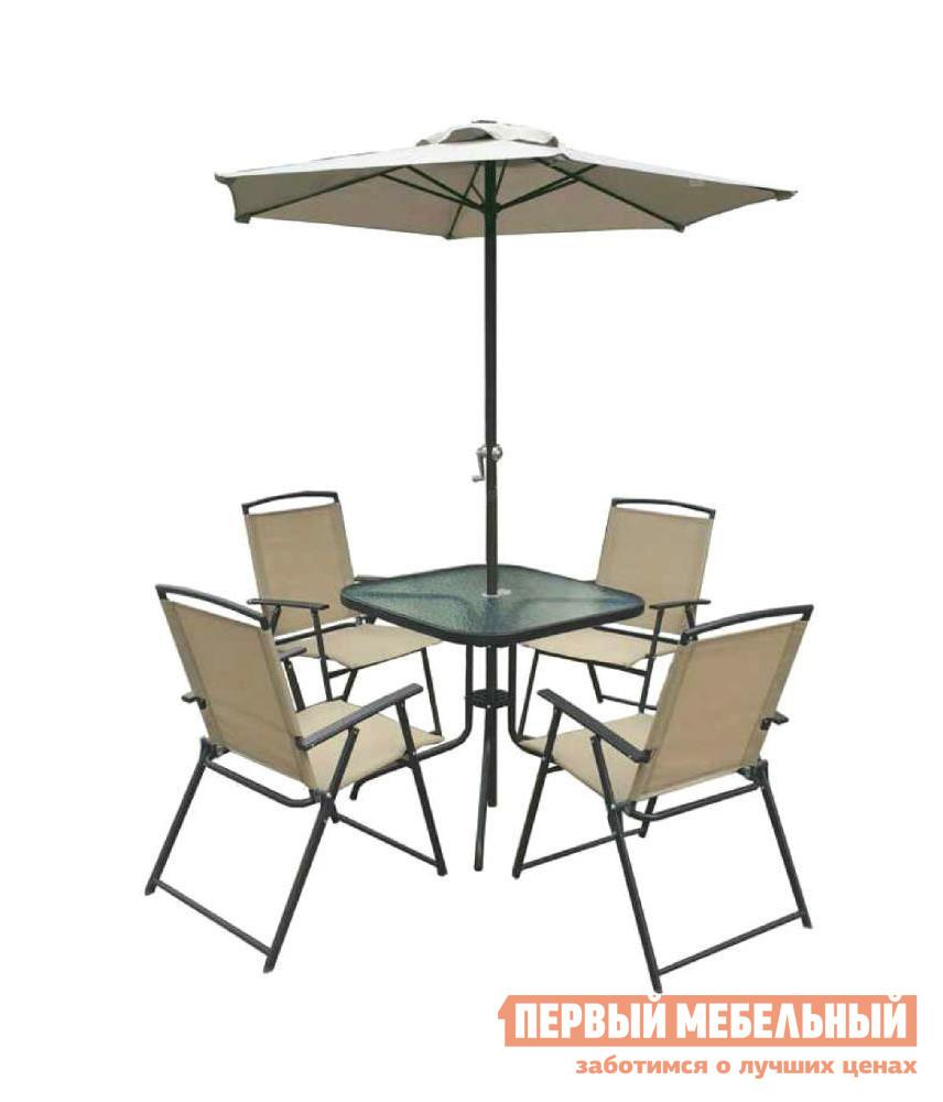 Комплект металлической мебели для сада ЭкоДизайн SF4021+SF5711+SU2016 комплект для сада bahama