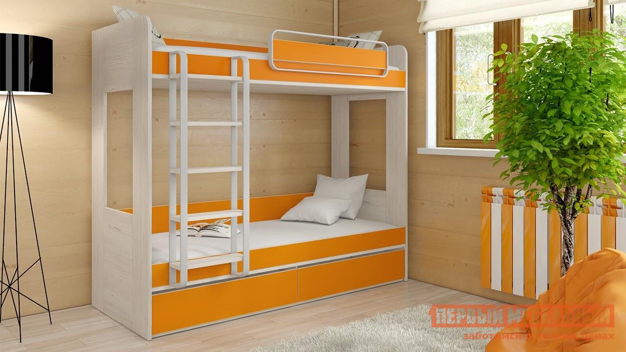 Двухъярусная кровать ТриЯ СМ-201.01.001 трия