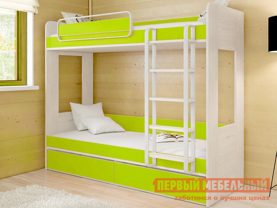 Двухъярусная кровать ТриЯ СМ-201.01.001 спальный гарнитур трия саванна к1