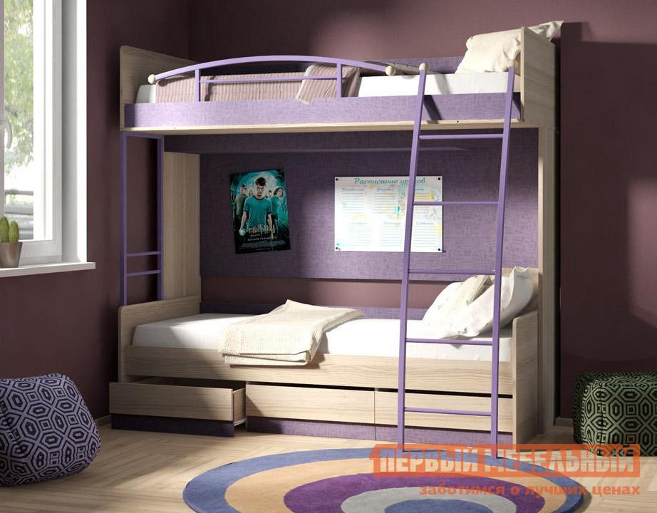 Двухъярусная кровать ТриЯ Индиго К4