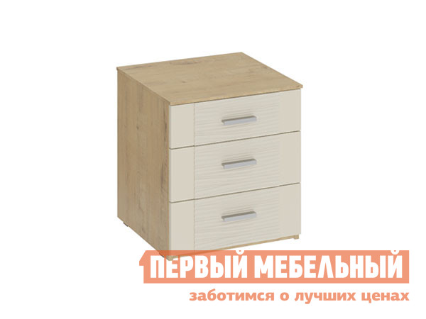 Прикроватная тумбочка ТриЯ Тумба прикроватная Николь ТД-295.03.01