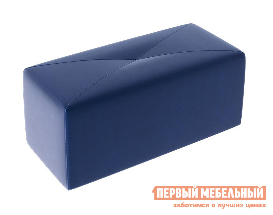 Пуфик  Пуф Тип 7 Велюр Синий