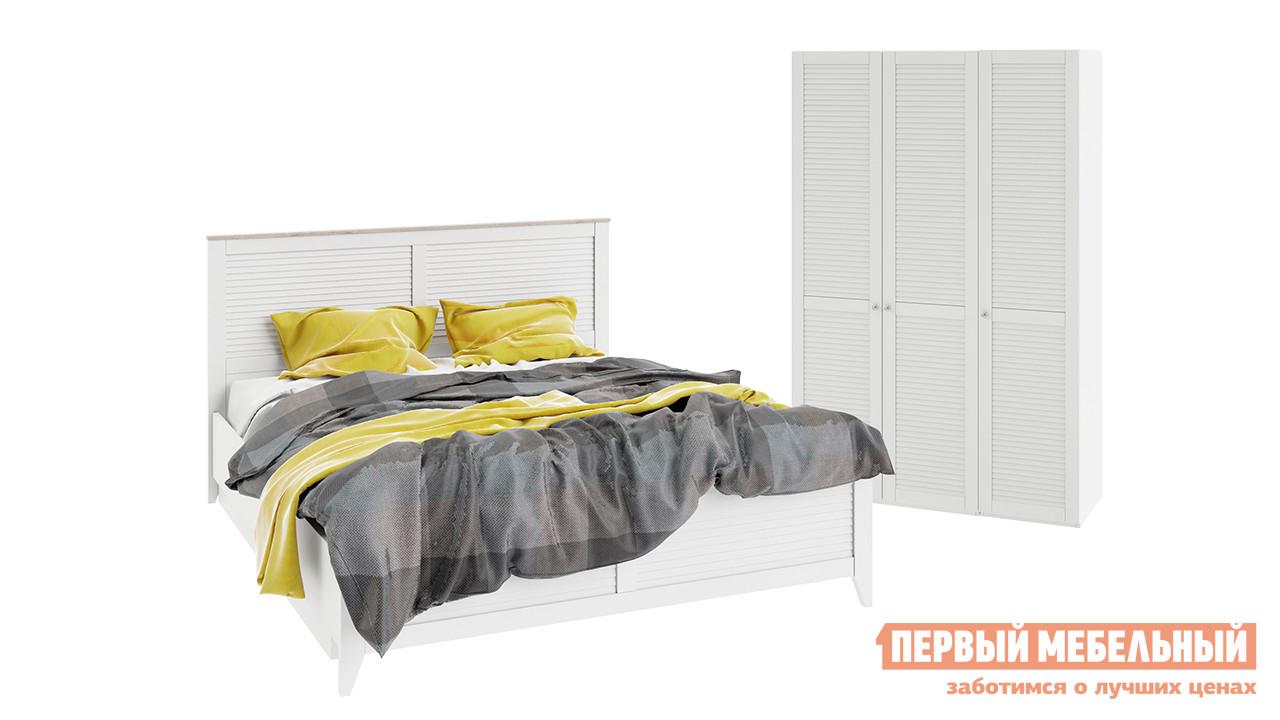 Спальный гарнитур ТриЯ Ривьера ГН-241.000 Спальный гарнитур стандартный спальный гарнитур трия лючия к2