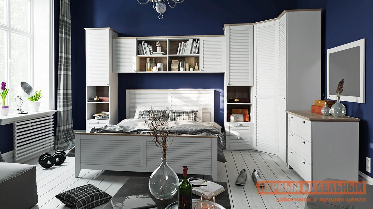 Спальный гарнитур ТриЯ Ривьера ГН-241.004 Спальный гарнитур №4 спальный гарнитур нк мебель марика к1