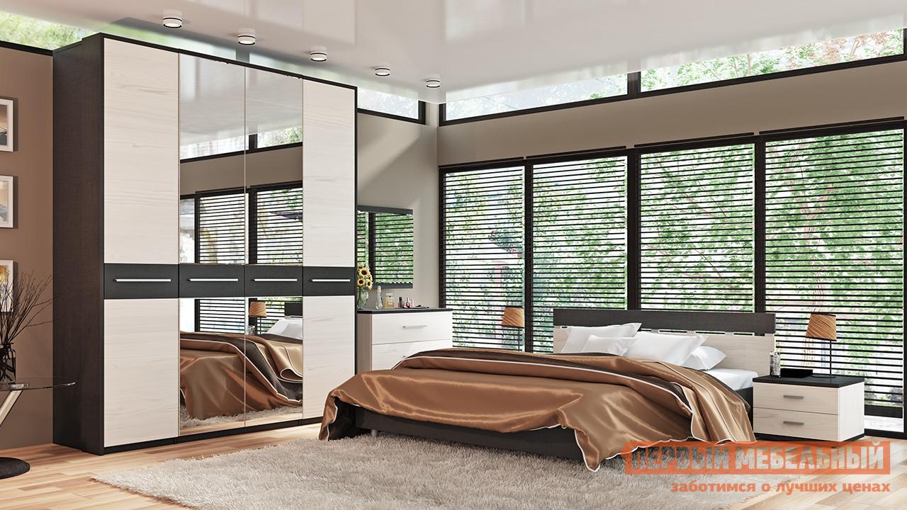 Комплект мебели для спальни ТриЯ Сити Тексит К3 комплект мебели для спальни трия амели к1