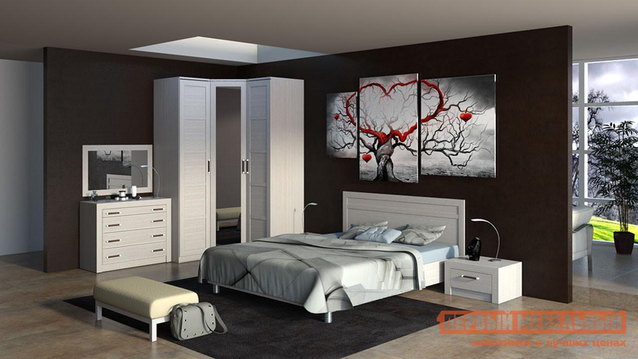 Комплект мебели для спальни ТриЯ Токио К12 комплект мебели для спальни трия амели к1