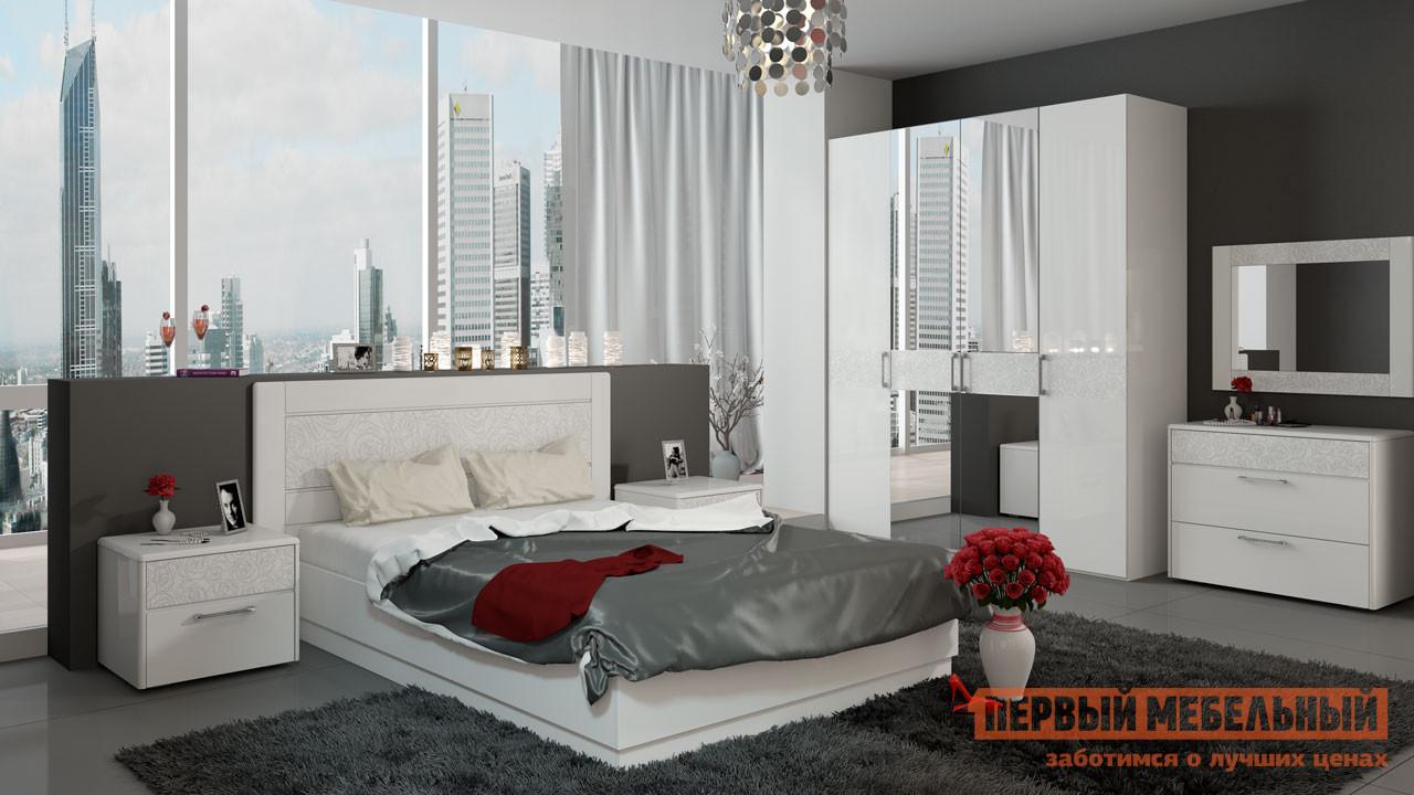 Комплект мебели для спальни ТриЯ Амели К3 комплект мебели для спальни трия амели к1