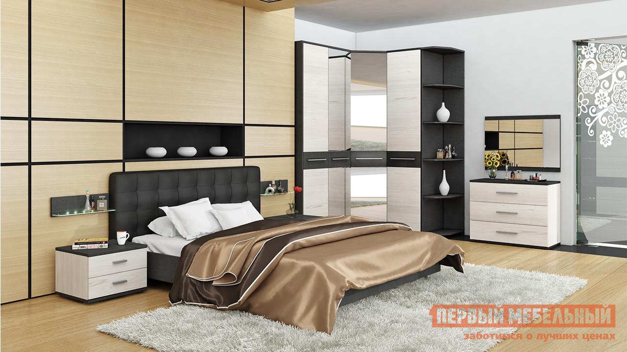 Комплект мебели для спальни ТриЯ Сити Тексит К4 комплект мебели для спальни трия амели к1